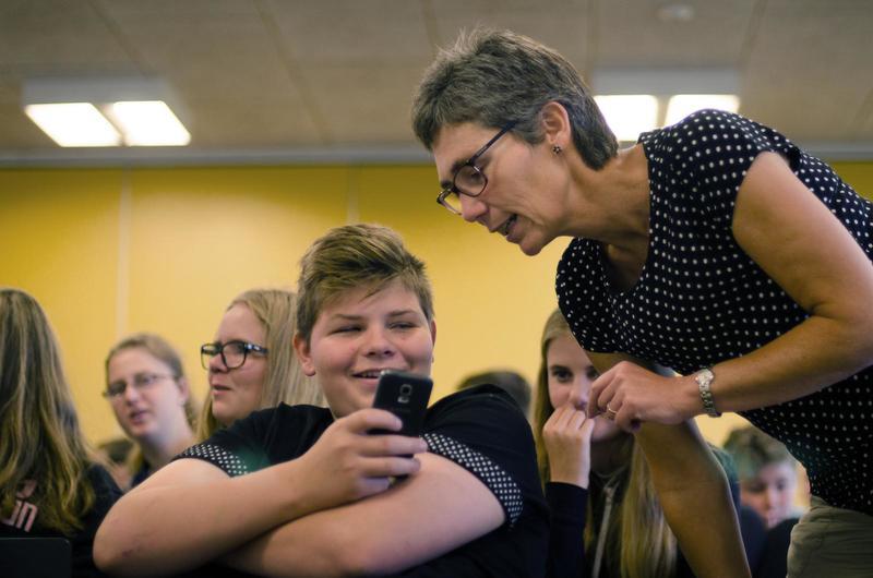 Lone Primdahl og fire andre repræsentanter fra Ordblindeefterskolerne skal mødes med Venstres uddannelsesordfører