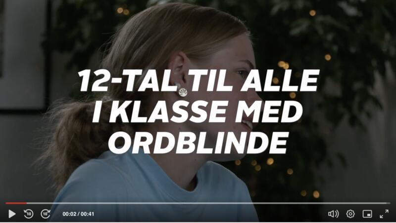 12 i dansk til alle ordblinde på efterskole