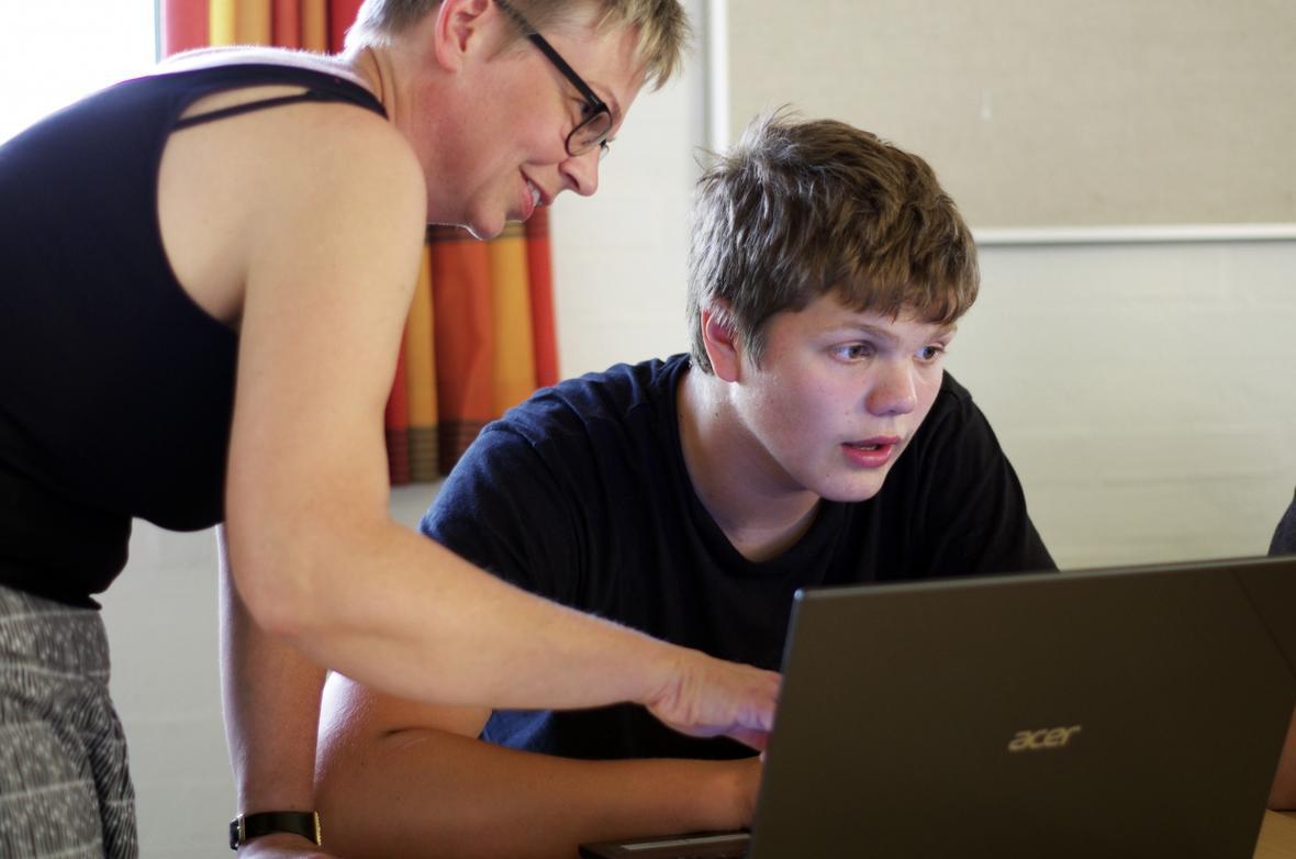Brug af IT letter matematikundervisningen på ordblindeefterskolerne